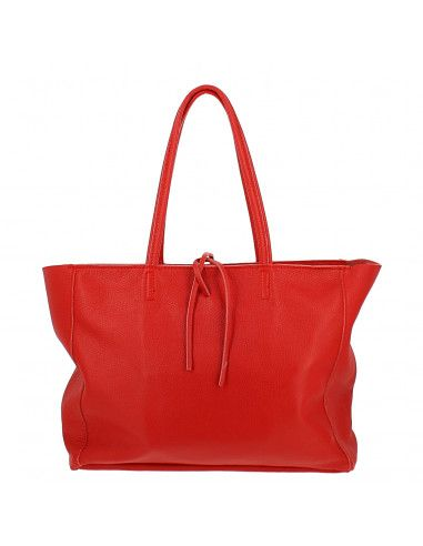 Grand sac en Cuir Ultrech, rouge - face